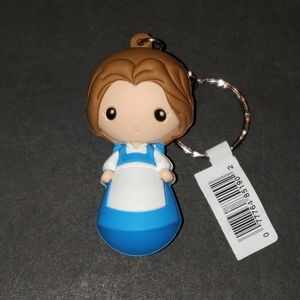 NWT Disney Belle Figural Keyring